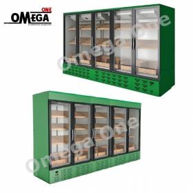 Ψυγείο Βιτρίνα Μαναβικής 360 cm | Omega One