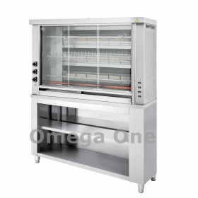 3 Spit Gas Rotisserie Oven with Base | Omega One