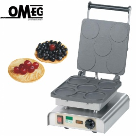 5 Βάφλες Pancakes/Blinis  | Συσκευή Βάφλας Pancakes/Blinis