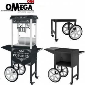 Μηχανή Popcorn με Τρόλεϊ 8oz